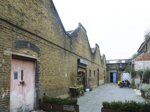 Location / Clapton tram depot
