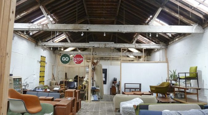 1800 sq ft Ground floor warehouse unit in Clapton Tram Depot E5