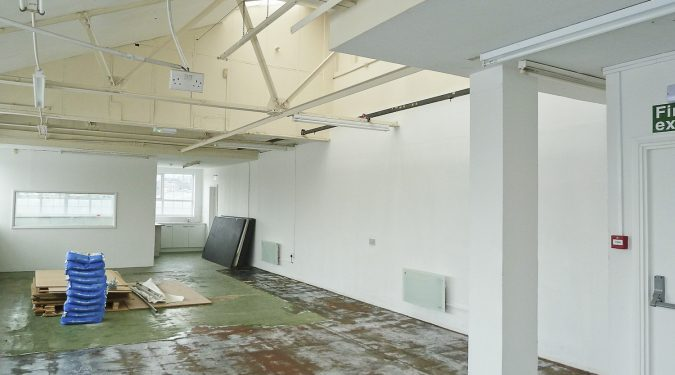 WORK ONLY: 1290 sq ft 2nd floor warehouse space – with flexible use and 24hr access in Manor House N4