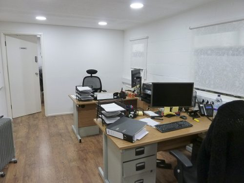 800 sq ft creative studios/offices available in converted warehouse in Seven Sisters N15