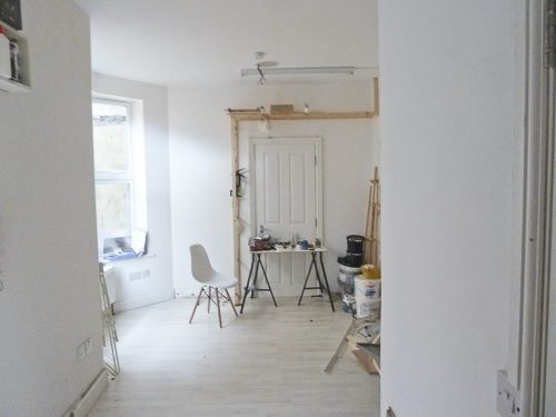 360 sq ft ground floor studio space available - divided into 3 areas in Leyton E10
