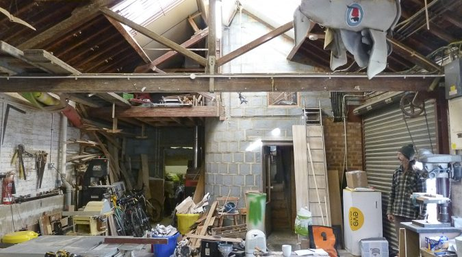 Live work unit to rent in 5000 sq ft warehouse conversion in St James Rd, Bermondsey, SE1