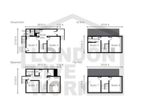 Floor plan – Camden