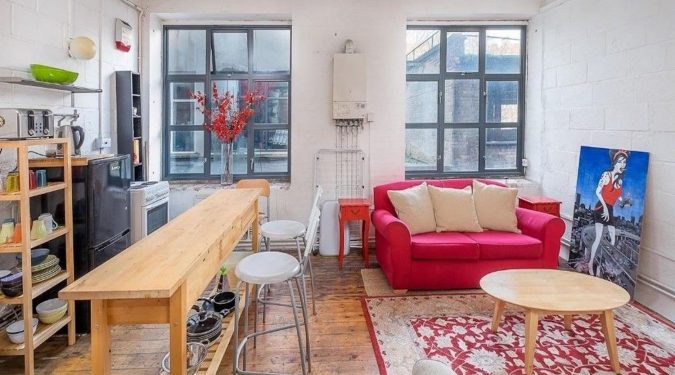 Amazing 1 Bed Warehouse Apartment in Hackney E9