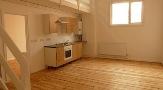 Artist studio / loft style studio available to rent in converted warehouse in Erith