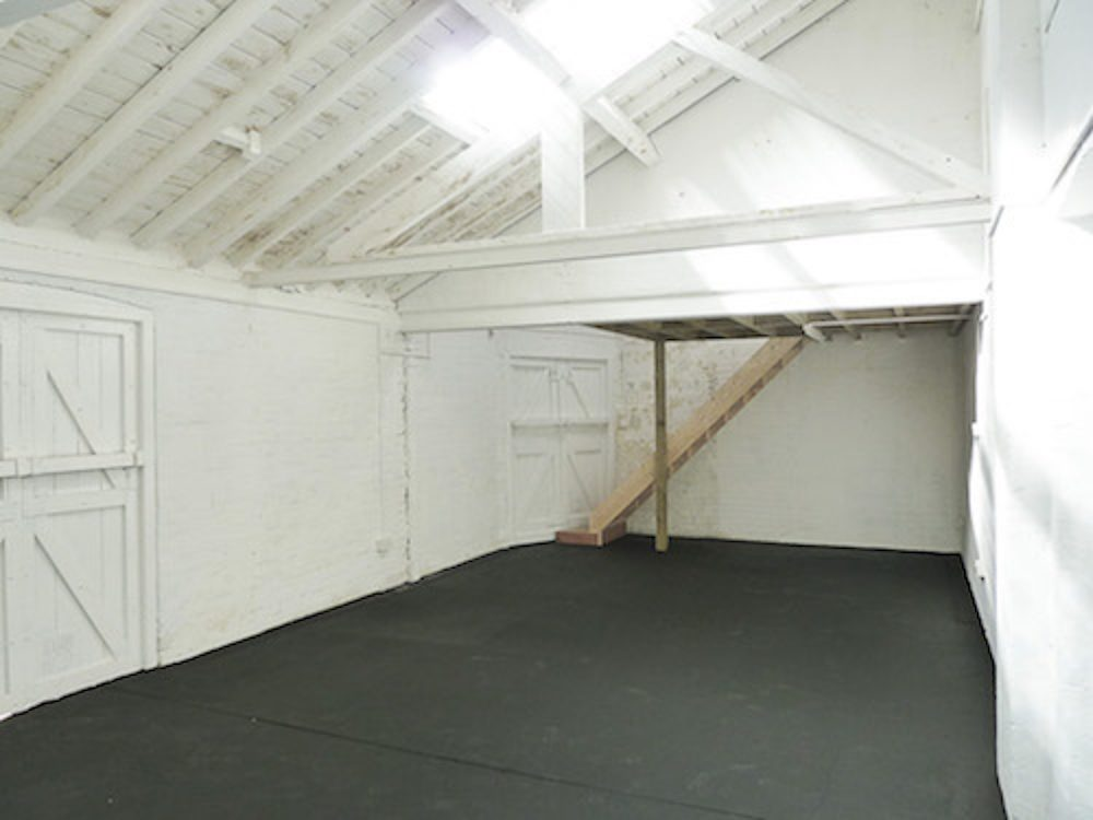Huge 710 sq ft artists studio space available to rent in converted warehouse in Norlington Road Studios, Leyton London E10