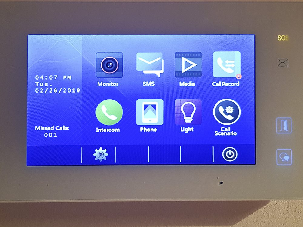 Smart monitor intercom system