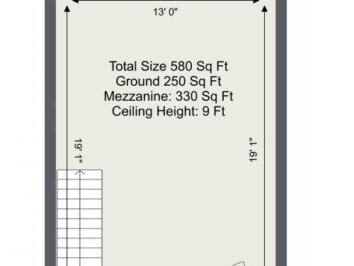 N17 Mill Mead UNit 11 – Floor Plan