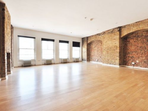 Stunning 1 bed large unfurnished first floor loft apartment to rent in N1 Hoxton