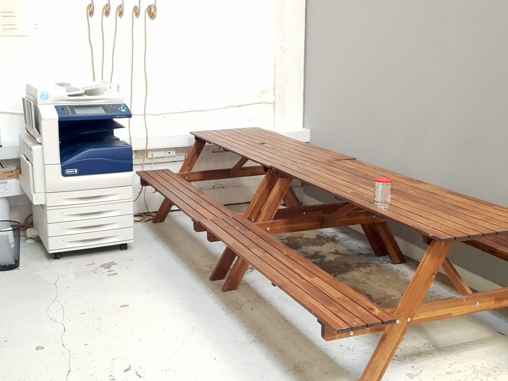 Art studio to rent in E9 Homerton22