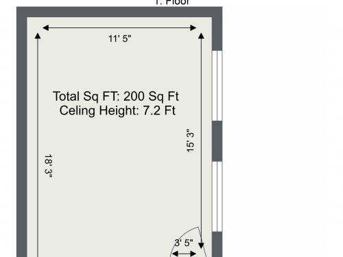 E9 Hommerton Mezzanine G1K – Floor Plan