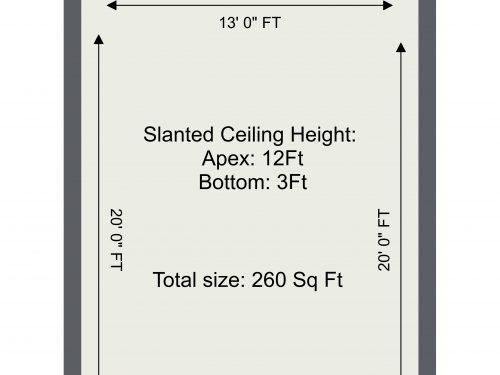 Markfield Road Mezzanine 1 – 1. Floor – 2D Floor Plan