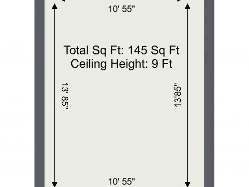 N16 Newington Green 145 Sq Ft Floor Plan
