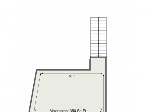 E3 41 Dace Rd D3 – Mezzanine Floor, Floor Plan