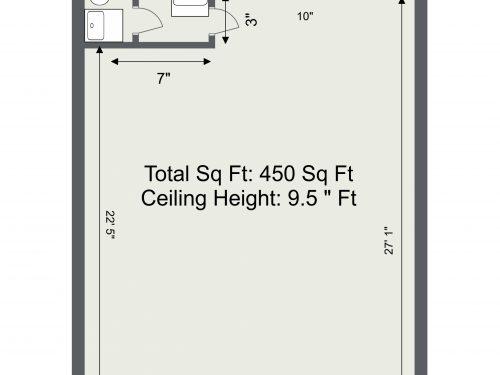E3 Wick Lane Shop – Floor Plan