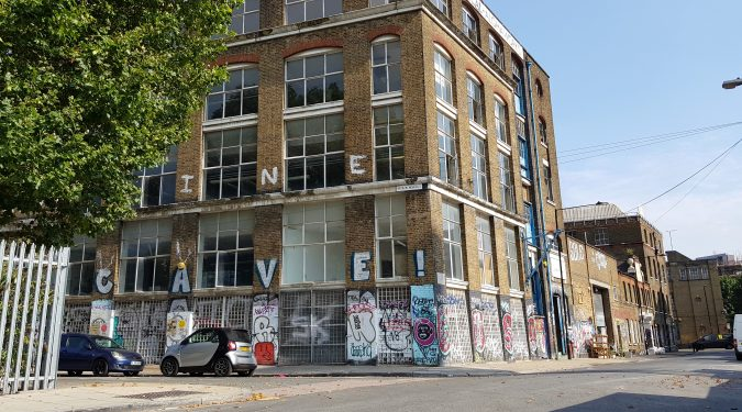 E3_Hackney Wick | Algha Works |22 Smeed Road | 2,575 sq ft floor available in Victorian warehouse in Hackney Wick, one of the last remaining warehouses to retain original features / windows / floors / lift etc - IDEAL FOR A GROUP OF ARTISTS.