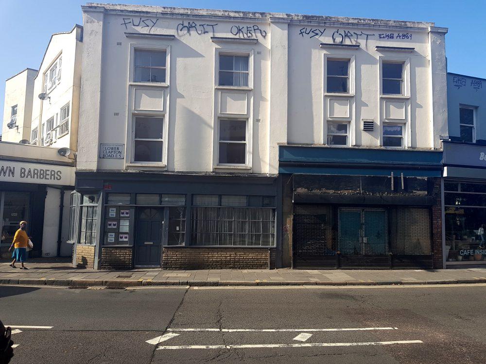 E5 Lower Clapton Road Shop Pic1