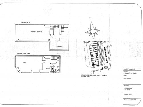 Floor Plan 442 kingland rd