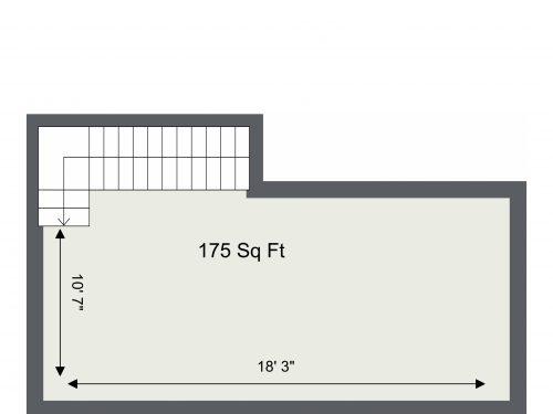 E8 Kingsland – Basememt Floor Floor Plan