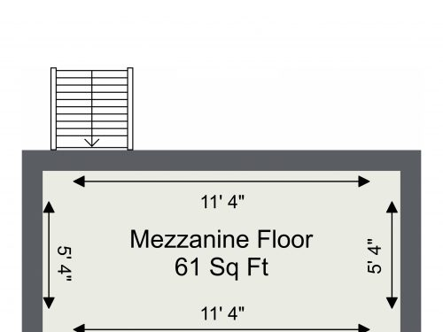 N16 Shelford U11 – Mezzanine Floor Plan