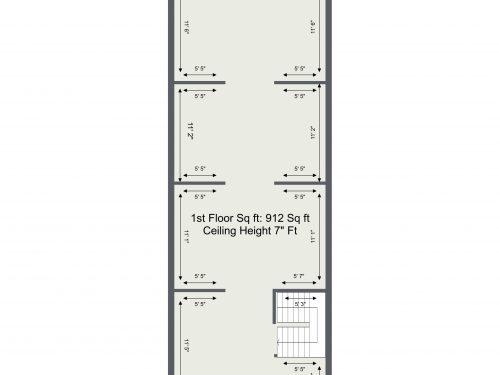 E5 Tram Depot U7 – 2Nd Floor Plan