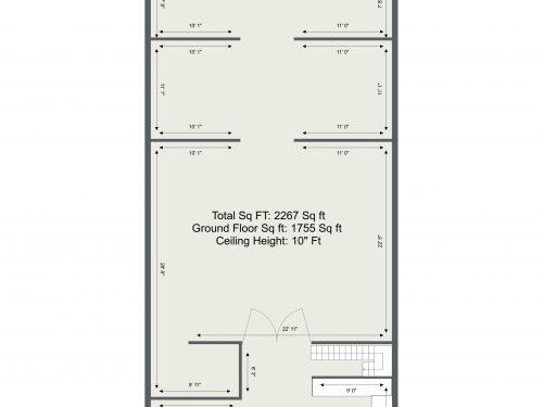 E5 Tram Depot U7 – Gf Floor Plan