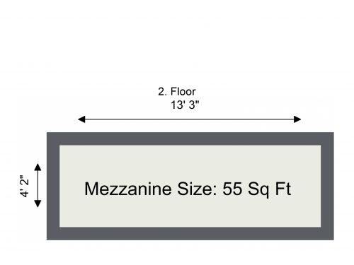 N16 Shelford Unit 28 Mez Floor Plan