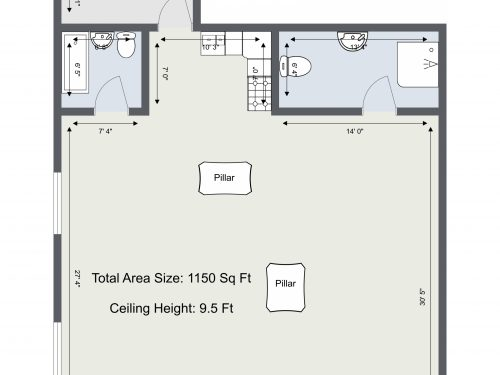 SE1 17 Lambeth Walk – Floor Plan