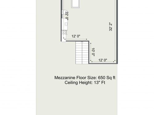 E9 Lennox House – Mezzanine Floor Plan