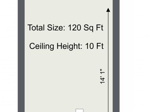 N15 Markfield Bones And Pearls Studio A 2D Floor Plan