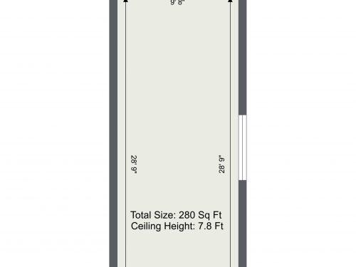 N16 Newington Green Unit H – Floor Plan