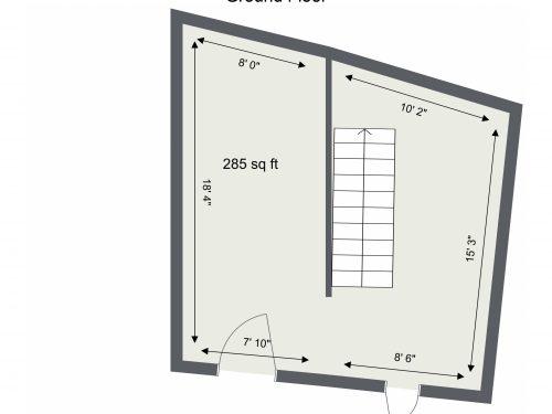 E9 Homerton Mackintosh Lane – Ground Floor – Floor Plan