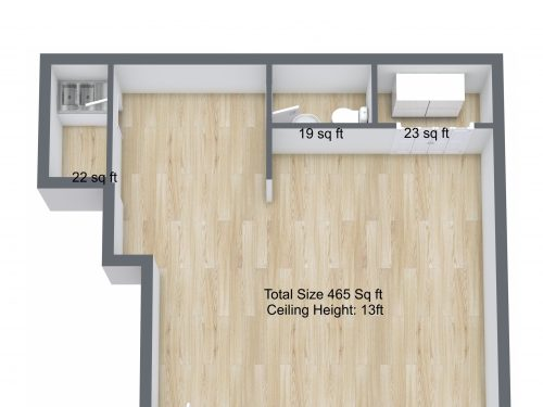 3D plan N4 Manor House Florentia Yianni Cottage – 1. Floor – 3D Floor Plan