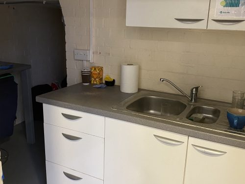 Ground floor Warehouse Space To Rent In N4 Manor House Florentia Clothing Village Tia Cottage Pic2