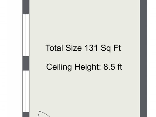 N16 Newington Green Unit D – Floor Plan