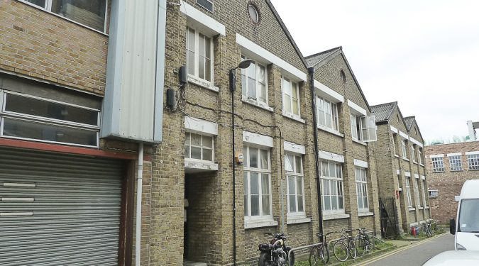 Work Only: 300 sq ft art studio with mezzanine available in converted warehouse, Stoke Newington N16