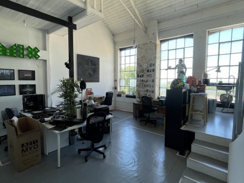 Live Work Style Warehouse Studio to rent in EN5 High Barnet Alston Works Pic1
